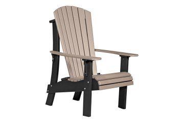 RACWWB Royal Adirondack Chair Weatherwood Black copy