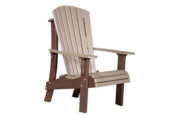 RACWWCBR Royal Adirondack Chair Weatherwood Chestnut Brown copy