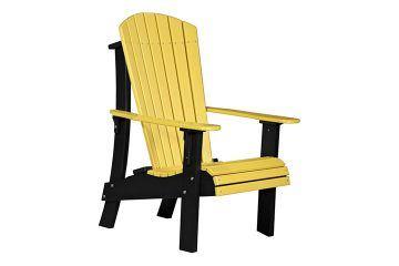 RACYB Royal Adirondack Chair Yellow Black copy