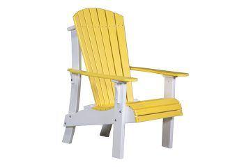 RACYW Royal Adirondack Chair Yellow White copy